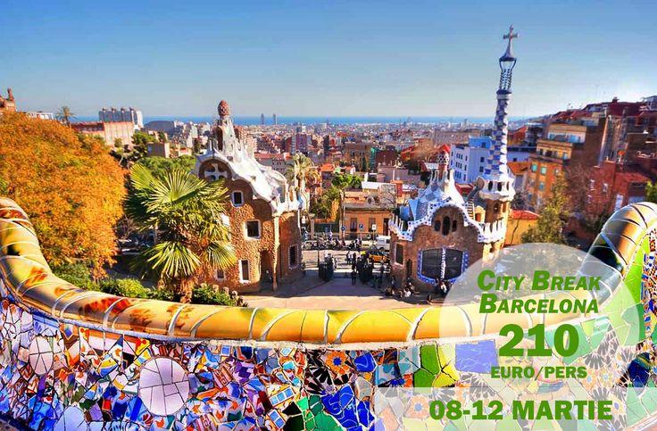 Oferta valabila doar AZI! Descopera frumusetea si atmosfera Barcelonei intr-un City Break irezistibil. Include 4 nopti de cazare la un hotel de 4*, excelent pozitionat si mic dejun inclus, precum si biletul de avion.