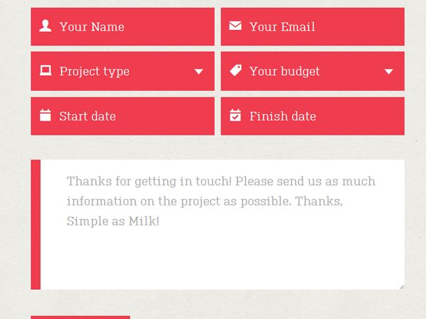 20 best Online Form Templates \ Form Design images on Pinterest