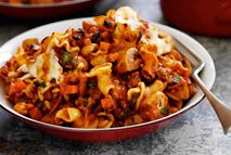 Hearty and warming, this beef and pasta dish will soon become a firm family favourite. Make double the quantity and freeze half then you'll always have a satisfying supper on stand-by.