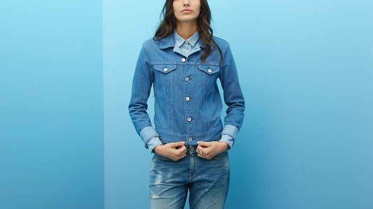 Denim Jacket | Mid Wash | Jacken & Westen | Kleidung | Damen | Levi's | Germany