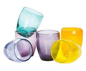 Set di 6 bicchieri da acqua in vetro Cascina Light - 9x10 cm