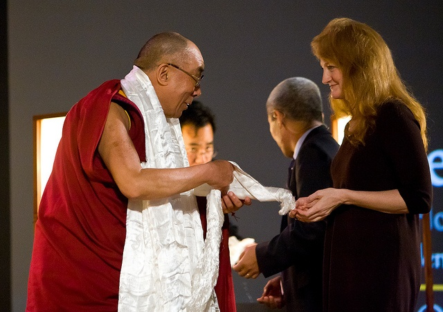 The Dalai Lama and Krista Tippet