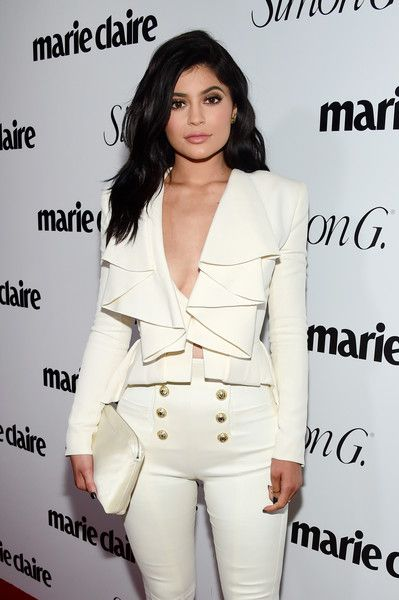 Kylie Jenner Photos - Marie Claire Hosts 'Fresh Faces' Party Celebrating May Issue Cover Stars - Inside - Zimbio