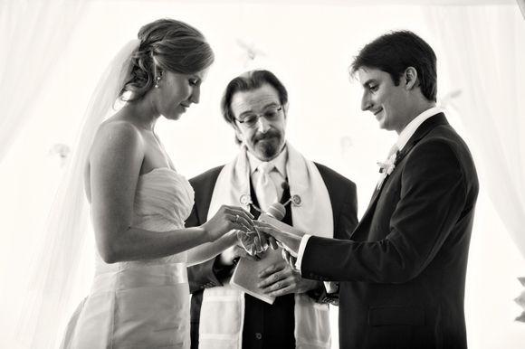 Jewish Bride Gives The Groom A Ring | The Big Fat Jewish Wedding