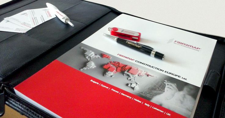 A small sample of the Merchandise and the promotion material of the company