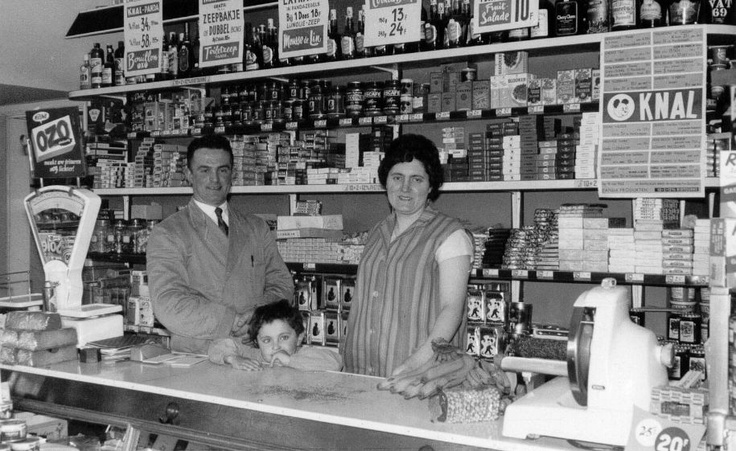 My parents first shop (1962)