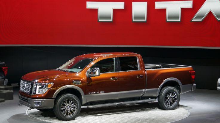 nissan titan v8 cummings diesel 2015 | 2016 Nissan Titan XD arrives with diesel V8 power
