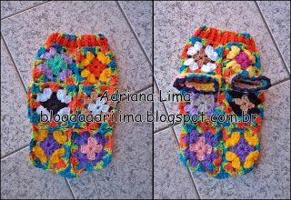 Adriana Lima: Roupinha em crochê para cachorro
