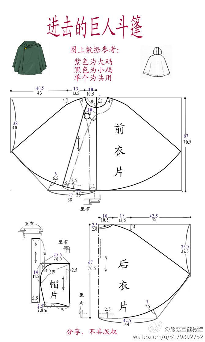 .Clothing Basics Tutorial || in Japanese but these pictures offer a good reference