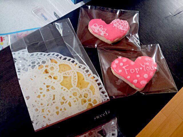 お菓子便用のケーキ。他に紅茶シフォンも入れました - 14件のもぐもぐ - アップルカスタードパウンドケーキ by achapon
