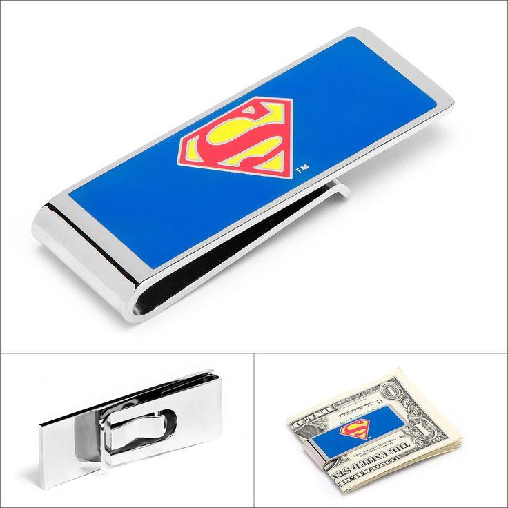 DC Superman Money Clip by Cufflinksman.com