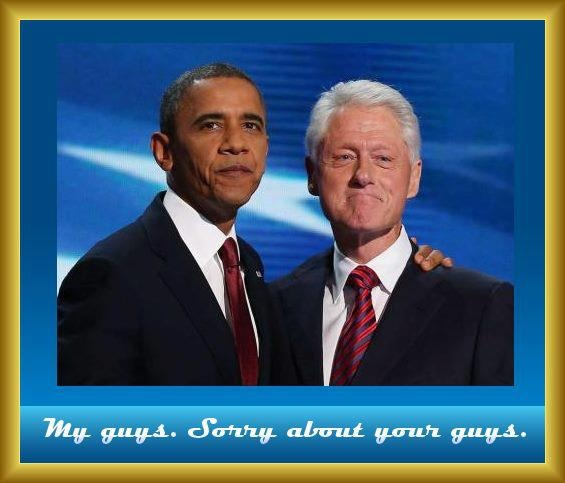Now that's a Pair!: Revere Presidents, Presidents Obama, Obama Administration, Clinton Tough On Crim, U.S. Presidents, Politics Party, Presidents Clinton, Obama Rescue, Bill Clinton