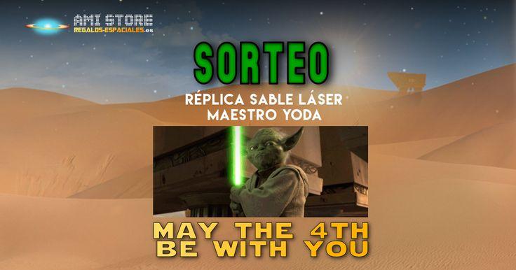 Creételo: ¡sorteamos una Réplica del sable luz de Yoda!