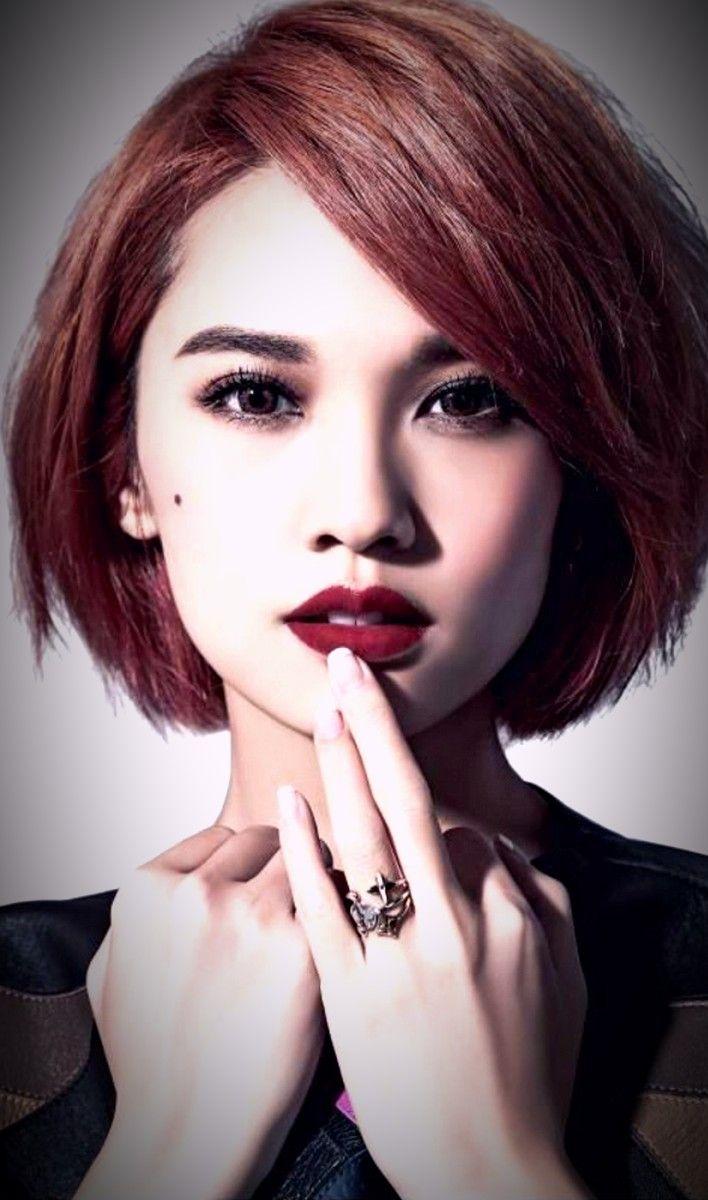 Rainie Yang Asian Short Hair Short Hair Trends Hair Color Asian