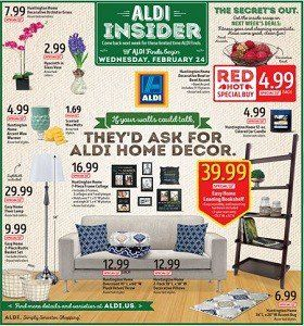 aldi weekly specials february 24 march 1 2016 home decor sale - Home Decor For Sale