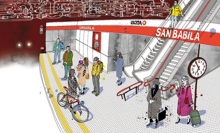 I am Milan: Metro