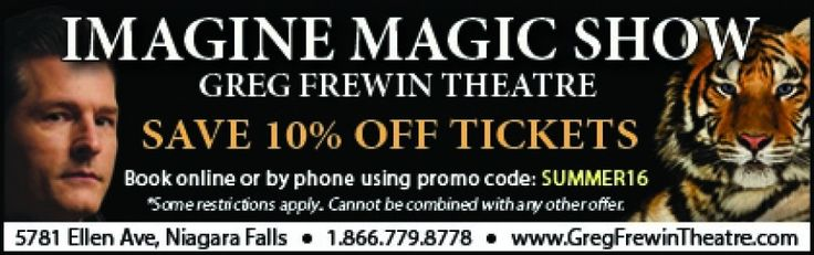 Greg Frewin Coupon - 10% off