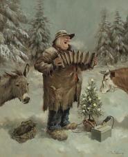Marius van Dokkum | Kerst- en Wintertaferelen