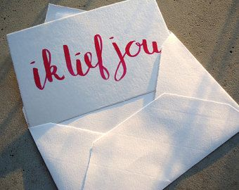 Wenskaart: Ik lief jou (MargOntwerp)