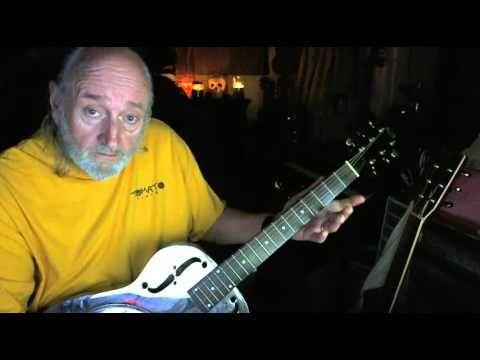 BOOGIE WOOGIE! Simple Old Geezer Method for Open D Tuning, Uncle Raggy
