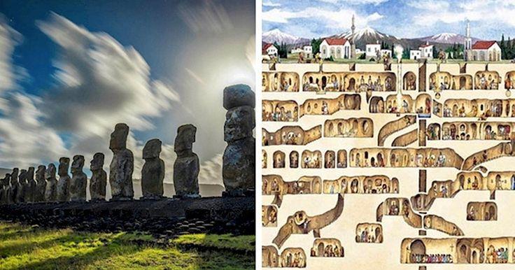 7 Sitios Antiguos que Podrían Haber Sido Construidos por Alienígenas