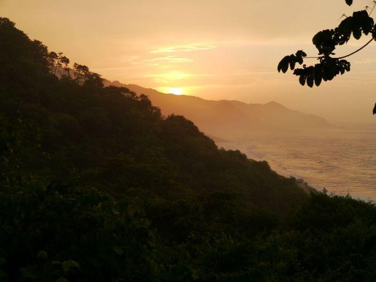 Zonsondergang Tayrona Park