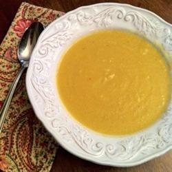 Butternut Squash and Turnip Soup Recipe