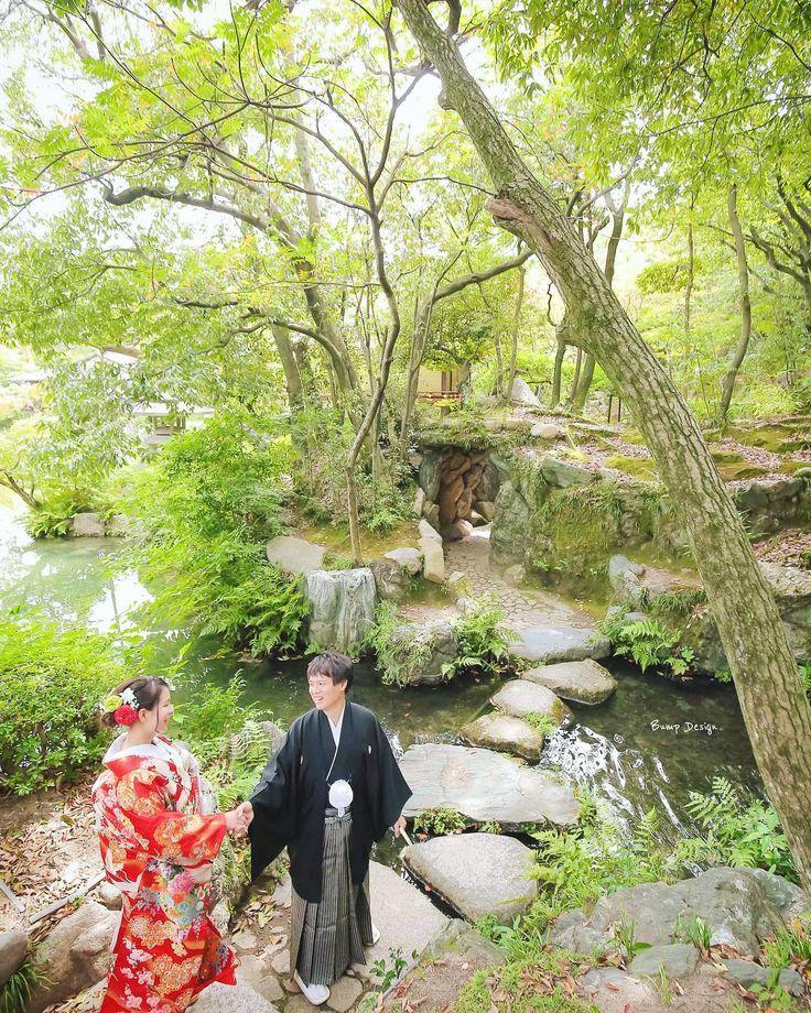 どんどん奥にいくと  なんと洞窟を発見   こんな日本庭園  初めてだ  見所たくさん   神戸にナンバーワンの  和装スポットに  決定ですね   #神戸 #相楽園 #プレ花嫁 #日本中のプレ花嫁さんと繋がりたい #結婚式準備 #ドレス試着 #前撮り#ウェディングフォト#ロケーションフォト#ウェディングドレス #farny_brides#卒花 #2018春婚#プロポーズ#ウェディングソムリエアンバサダー#東海プレ花嫁#東京カメラ