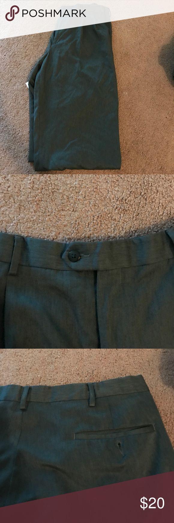 Grey Dress Pants **NEW ITEM** men's grey dress pants! 38W x 32L practically new! Savane Pants Dress