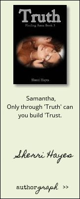 "Authorgraph from Sherri Hayes for ""Truth (Finding Anna Book 3)"""