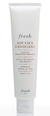 Fresh Soy Face Exfoliant 3.4 oz by Fresh. Save 11 Off!. $37.49. 3.4 fl oz. Gently Resurfaces and Refines. Natural Microdermabrasion. What it is:A natural, ultra-gentle exfoliator to resurface and refine the complexion. What it is formulated to do:The Soy Face Exfoliant from Fresh features a unique formula with an ultra-gentle form of natural microdermabrasion. Jojoba, rose hip, and cucumber seeds gently resurface the complexion while soy proteins revive the skin and encourage cell…