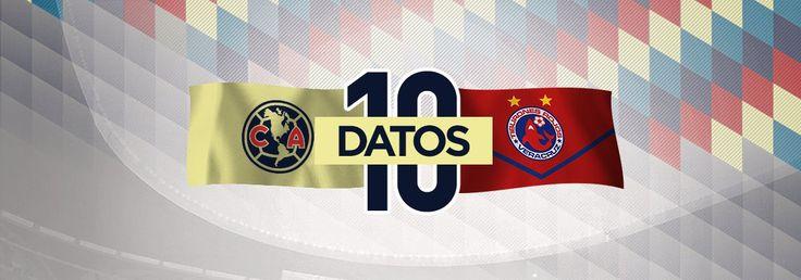 El América recibirá al Veracruz este sábado en el Estadio Azteca a las 21:00 horas. Conoce 10 datos de la historia de estos duelos.