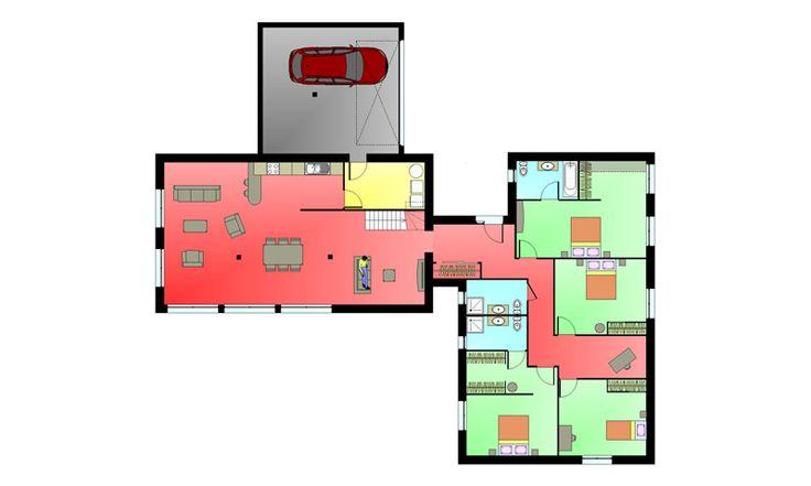 Les 64 meilleures images propos de plan maison sur - Livre de plan de maison ...