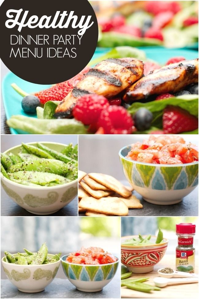 Healthy dinner party menu ideas with mccormick flavorprint for Dinner party menus and recipes