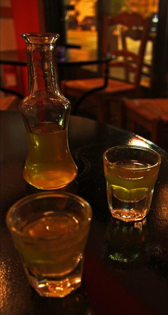 Ρακόμελο   Raki with Honey (known as Rakomelo)