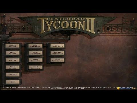 Railroad Tycoon 2 gameplay (PC Game, 1998) | 1990s Video Games
