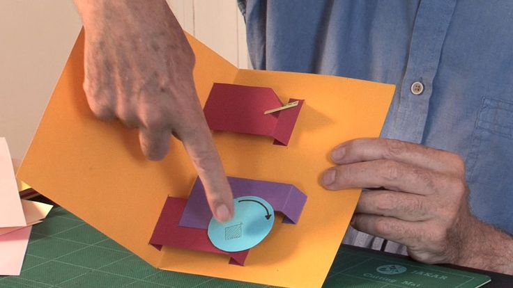 how to make cards with moving parts