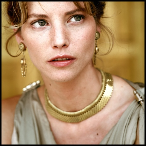 Sienna Guillory played Helen of Troy in the 2003 miniseries