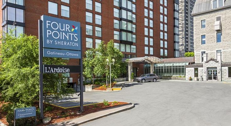 Four Points by Sheraton Gatineau-Ottawa Gatineau The Canadian Museum of History is 5 minutes' walk from this completely non-smoking, eco-friendly hotel in Gatineau. Free WiFi and flat-screen TVs are available in every room. The hotel offers an indoor swimming pool and fitness center.