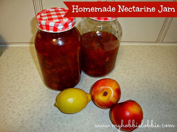 The Aspiring Home Cook: Homemade Nectarine Jam