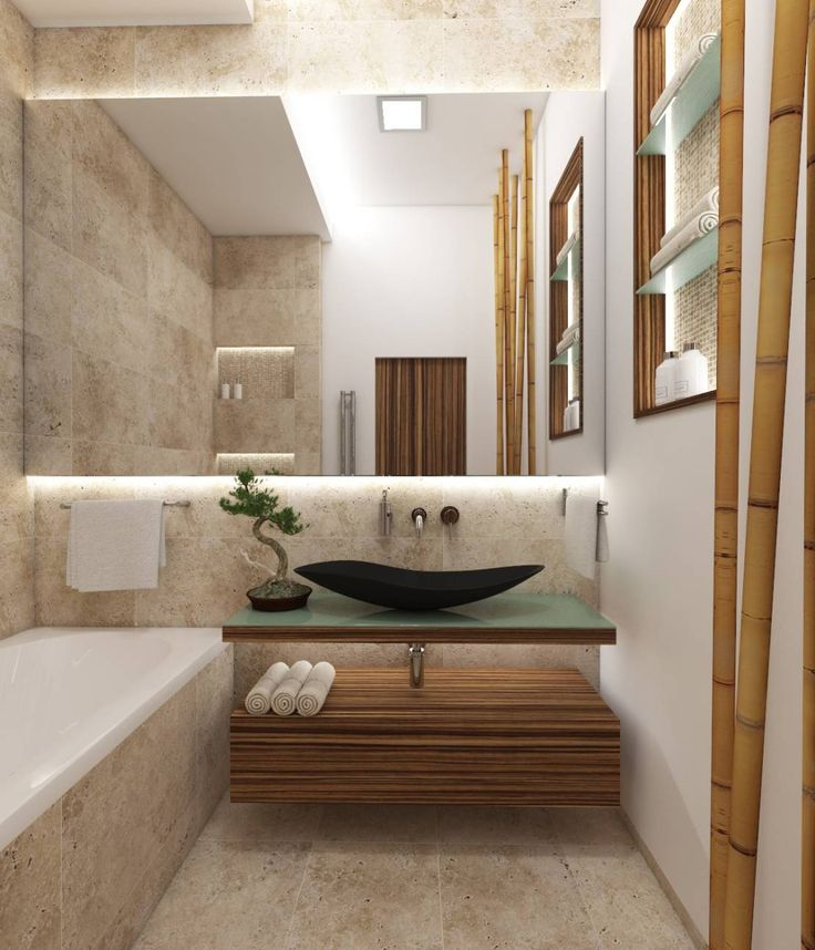 55 best Badezimmer in Holz(-optik) images on Pinterest Bathroom - lampe für badezimmer