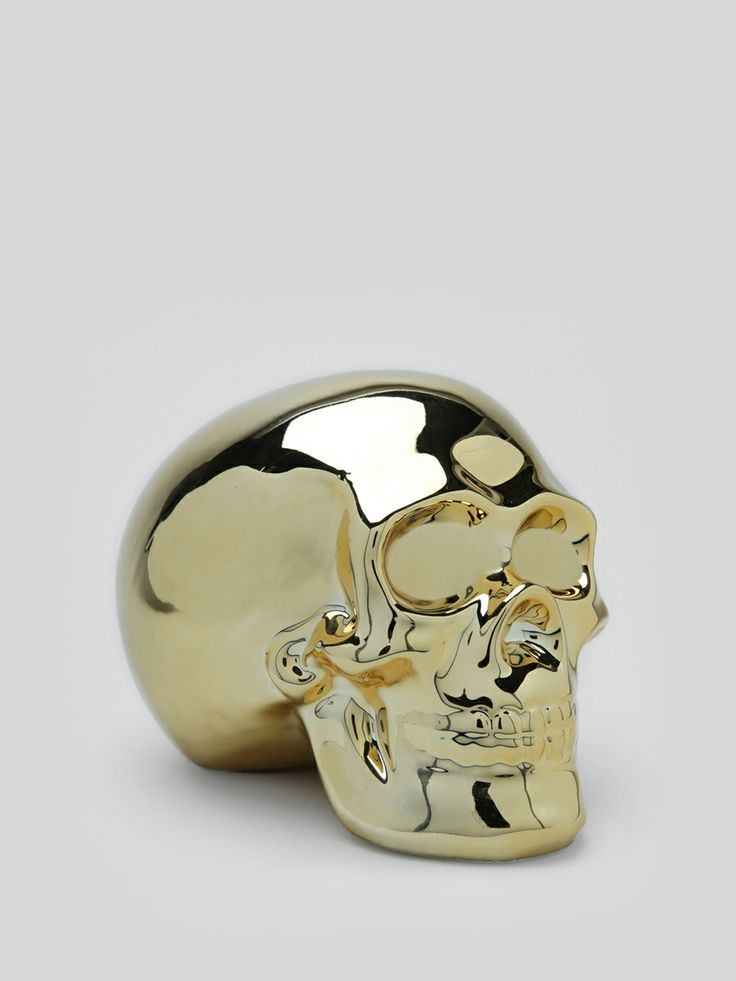 Skull Money Bank #gypsyinteriors
