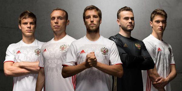 Russia Euro 2016 Away kit