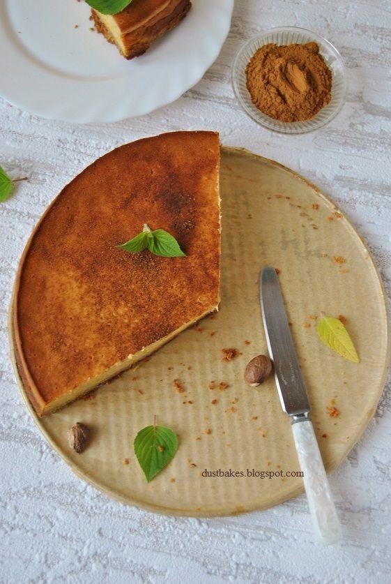 Cheesecake pumpkin butter on the bottom