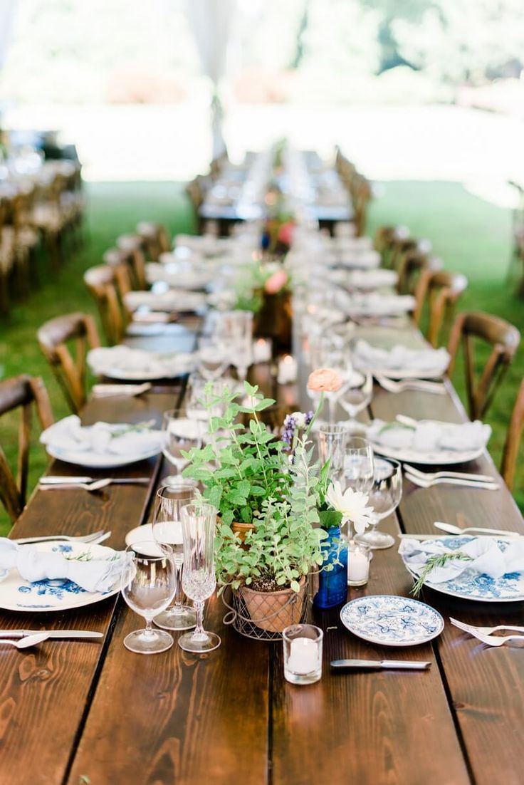 Boho Chic Garden Wedding | Deyla Huss Photography - KnotsVilla
