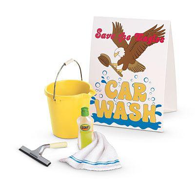 American Girl® Accessories: Julie's Car Wash Set