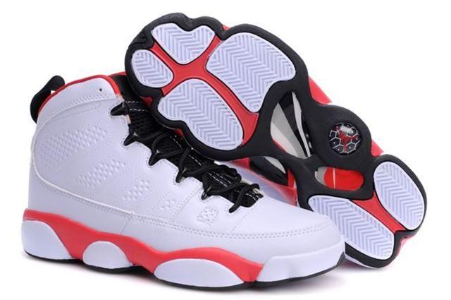 http://www.myjordanshoes.com/air-jordan-9-white-red-black-p-570.html AIR JORDAN 9 WHITE RED BLACK Only $68.30 , Free Shipping!
