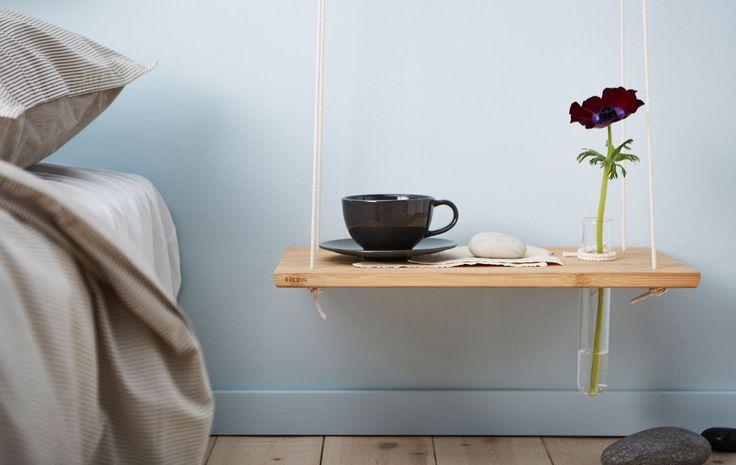 Er du lei av gamle tradisjonelle nattbord? Prøv disse tre gjør-det-selv-ideene for å få et nytt nattbord, og sjekk om de gir deg en bedre natts søvn.