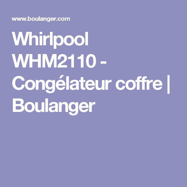 Whirlpool WHM2110 - Congélateur coffre | Boulanger