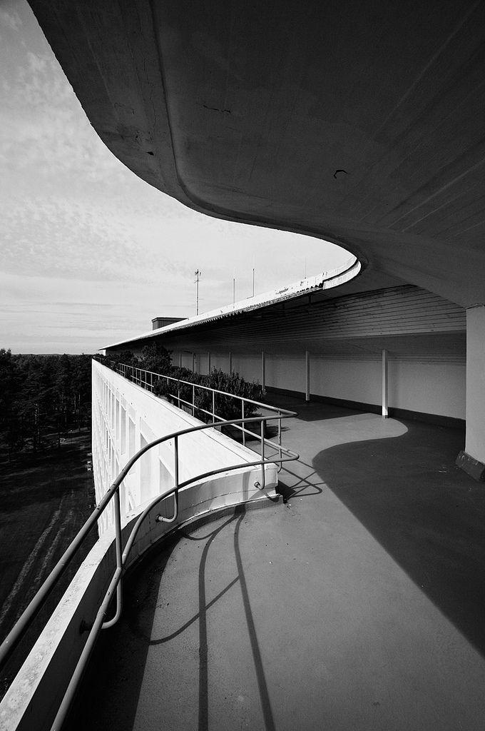 Paimio Sanatorium Alvar Aalto Photographed byh ssan